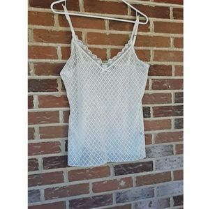 The limited lace tank